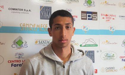 Sanremese calcio, il ritorno del centrocampista Youssef Sadek