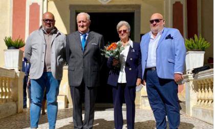 """Giorgio Giuffra """"Auguri mamma e papà per i vostri 50 anni di matrimonio"""""""
