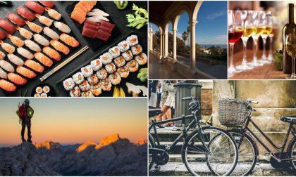 Dall'aperitivo giapponese alle pedalate letterarie: ecco tutti gli eventi del fine settimana
