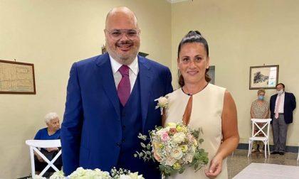 Le nozze del Sindaco di Riva Ligure Giorgio Giuffra
