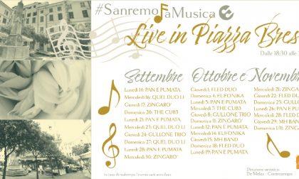 Un ottobre ricco di appuntamenti con la musica live di piazza Bresca