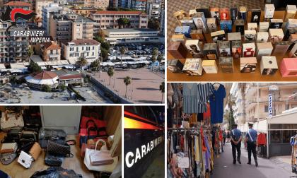 Oltre 800 articoli contraffatti sequestrati al mercato di Ventimiglia