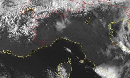 Il meteo di Arpal per il fine settimana, ancora forti raffiche di vento sulla regione