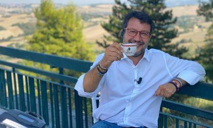 Matteo Salvini chiude la campagna elettorale a Sanremo