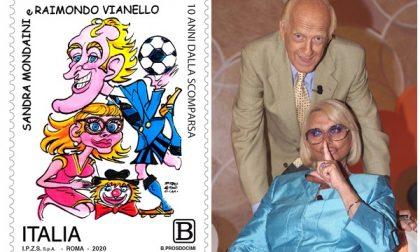 Un francobollo per ricordare Sandra e Raimondo