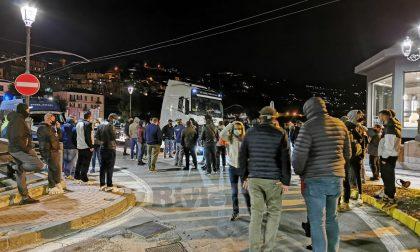 Una trentina di identificati per la manifestazione sul ponte del Roya a Ventimiglia