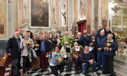 Celebrati gli anniversari di matrimonio a Riva Ligure. Le foto