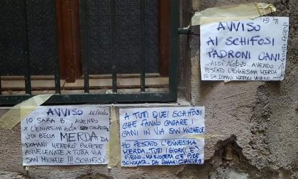 """Ho pestato l'ennesima m… da domani cianuro ai cani"": 3 cartelli choc a Dolceacqua"