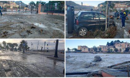 Paesi isolati e devastati nelle valli Arroscia e Argentina, Ventimiglia città alluvionata. Foto