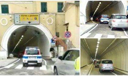 Aperta oggi la galleria degli Scoglietti che collega la città di Ventimiglia al porto. Video