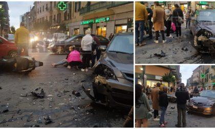 Motociclista di 22 anni ferito nello schianto con un'auto a Ventimiglia
