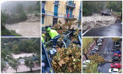 Maltempo: decine di interventi dei vvff, situazione critica nelle valli Roya e Arroscia