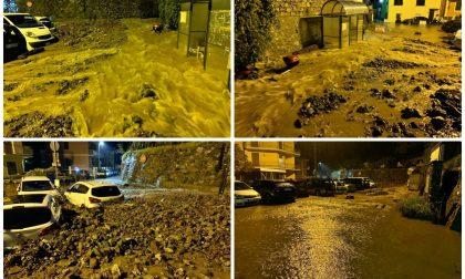 Il maltempo provoca danni nel Levante ligure, ecco le foto