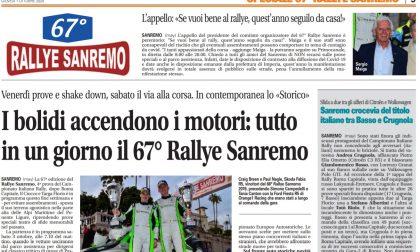 Se volete bene al Rallye di Sanremo state a casa