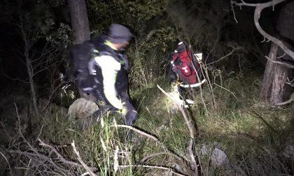 Due coniugi dispersi sulle alture di Rocchetta Nervina, vigili del fuoco in azione