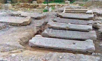 Tre sarcofagi saranno aperti durante gli scavi nell'area archeologica di Nervia