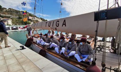 Giornata storica per Ventimiglia: la barca a vela Tuiga dal Principato inaugura il porto – FOTOGALLERY