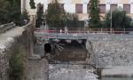 Crollo dell'argine: autocisterna in arrivo a Taggia