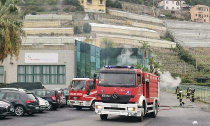 Esplosione in un'azienda floricola di Taggia uomo ustionato – FOTO e VIDEO