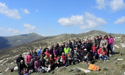 """Venti partecipanti per il Trekking urbano di """"Sui sentieri del Golfo"""" FOTO"""