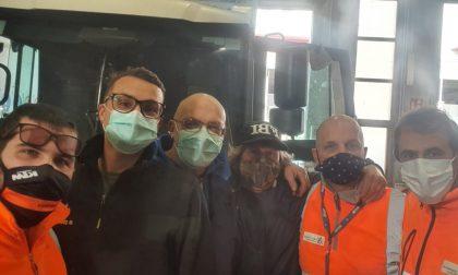 La solidarietà dei colleghi del netturbino pestato a sangue a Sanremo