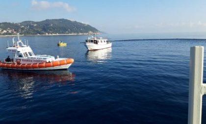 Esercitazione al porto di Oneglia per proteggere l'ambiente marino dall'inquinamento
