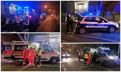 Schianto in scooter in via Padre Semeria a Sanremo, ferito un 33enne