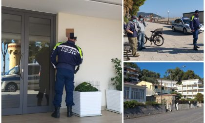 Controlli a tappeto della polizia locale a Diano Marina, firmate già 4 autocertificazioni