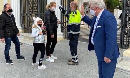 Cimiteri aperti a Ventimiglia, ma si controlla la febbre all'ingresso