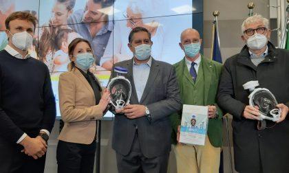 Babboleo regala 800 super mascherine agli ospedali liguri