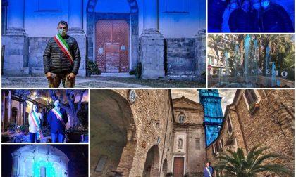 """La provincia si tinge di """"blu"""" per la Giornata Mondiale dei Diritti dell'Infanzia. Le foto"""