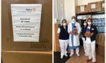 Dal Rotary Sanremo 630 visiere al personale sanitario dell'Ospedale Borea