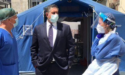 Reparti chiusi per covid Toti: nostri ospedali in sofferenza