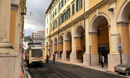 Rush finale per l'asfaltatura di via Bonfante