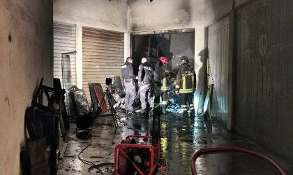Brucia un garage in via Peirogallo a Sanremo, si indaga sulle cause