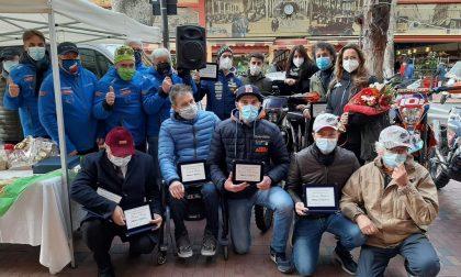 Rallyterapia e Spes per beneficenza a Ventimiglia