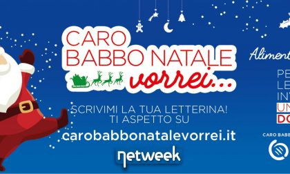 Aiutateci ad aiutare: scrivete una letterina a Babbo Natale e La Riviera dona un pasto al Banco Alimentare
