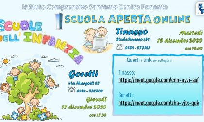 Open day della scuola dell'infanzia Goretti di Sanremo