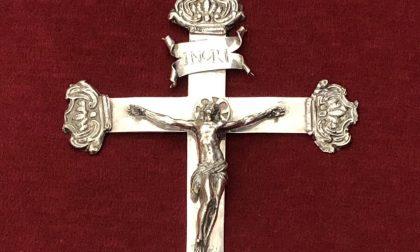 Scoperto in un deposito della Madonna della Costa un crocefisso di metà '600