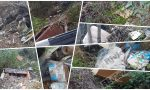Carcasse di scooter, divani e montagne di rifiuti: a Ventimiglia una discarica a cielo aperto