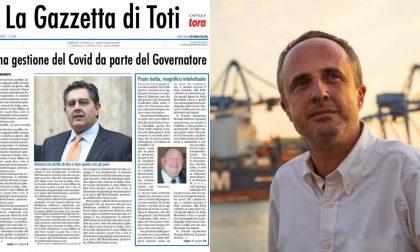 "Sansa spara a zero su Liguria Digitale e Toti ""Duce con la d minuscola"""