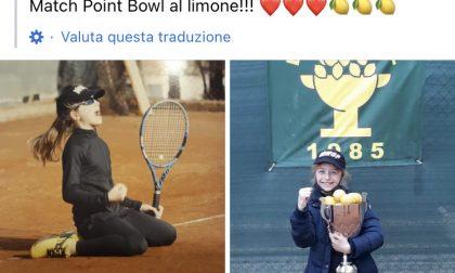 La giovane Victoria si aggiudica il Lemon Bowl di tennis a Roma