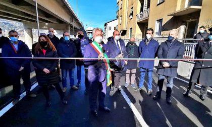 Inaugurato il sottopasso ferroviario di via Tenda a Ventimiglia