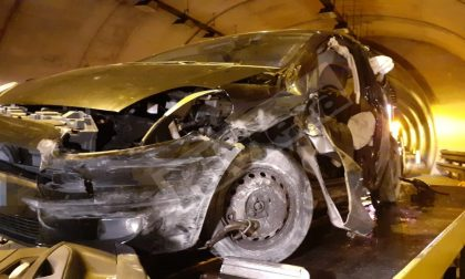 Schianto con l'auto all'imbocco dell'Aurelia Bis a San Martino, grave un 29enne