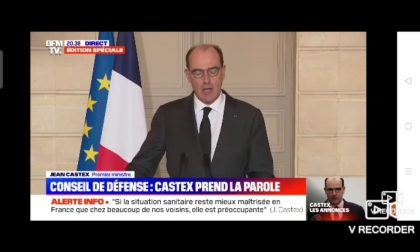 Nuovo lockdown in Francia: 4 settimane di confinamento anche nelle Alpi Marittime