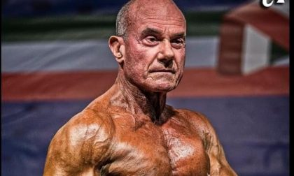Sanremo piange il culturista Mario Rolleri, fu campione over 70 di body building