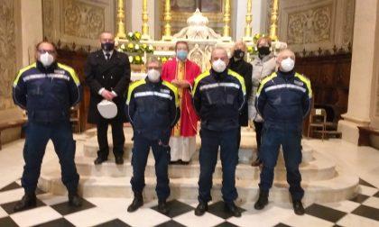 La polizia locale di Diano Marina festeggia San Sebastiano
