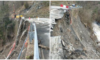 Maltempo: chiusa la strada per Molini, bisogna imboccare la deviazione per Andagna