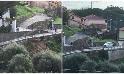 Maltempo: Bussana Vecchia raggiungibile da via Armea-carcere, dopo il crollo della strada