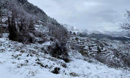 Pioggia e deboli nevicate, il bollettino Arpal